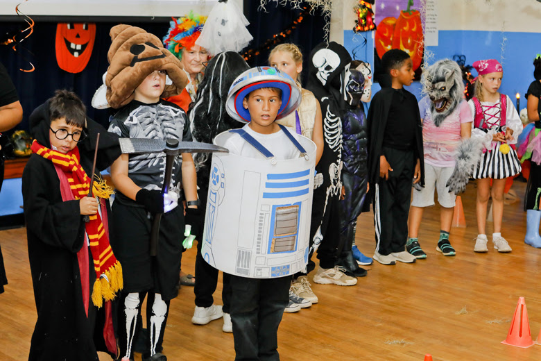 Halloween Parade at St George's Prep Bermuda Oct 31 2018 (3)