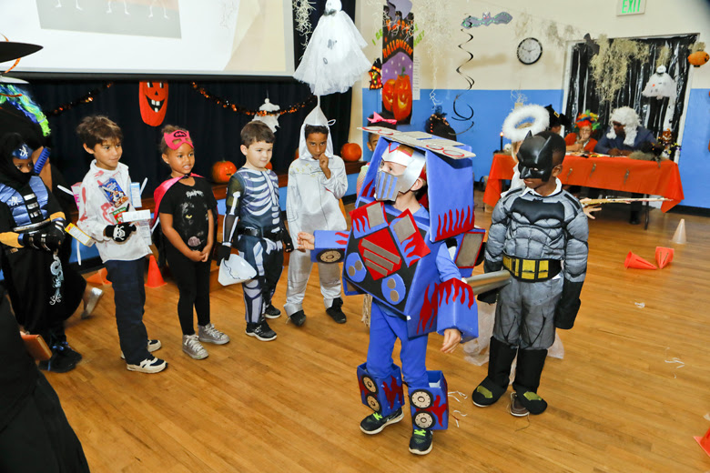 Halloween Parade at St George's Prep Bermuda Oct 31 2018 (4)