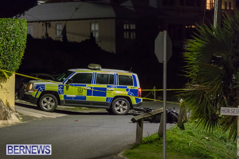 Horseshoe Road Collision Bermuda, October 28 2018 (1)