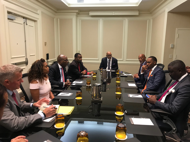 Premier and Business Leaders In Miami Bermuda Oct 17 2018 (1)