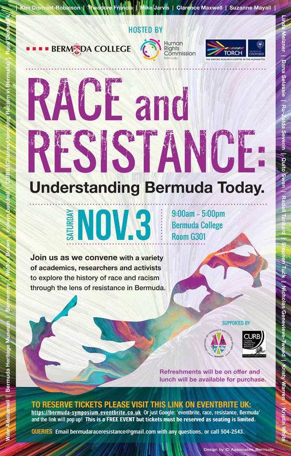 Race and Resistance Bermuda October 2018