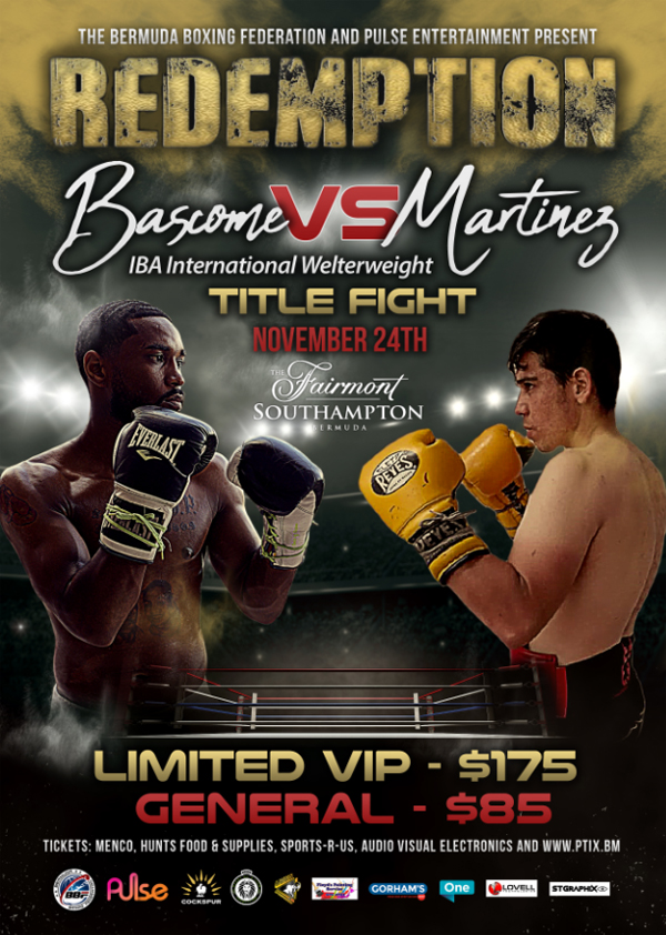Redemption Fight Night Bermuda October 2018
