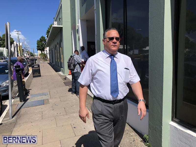 Rev Nicholas Tweed Bermuda October 4 2018