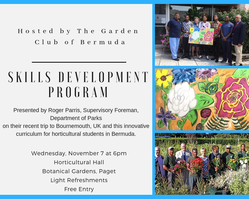 Skills Development Program Bermuda October 2018