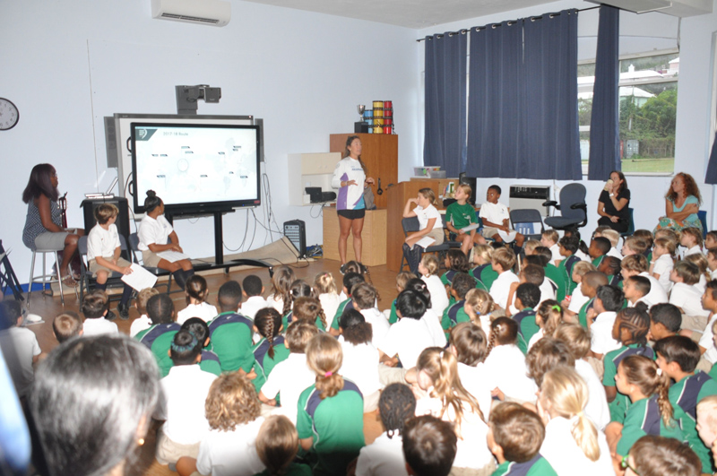 Somersfield Academy Emily Nagel Bermuda October 2018