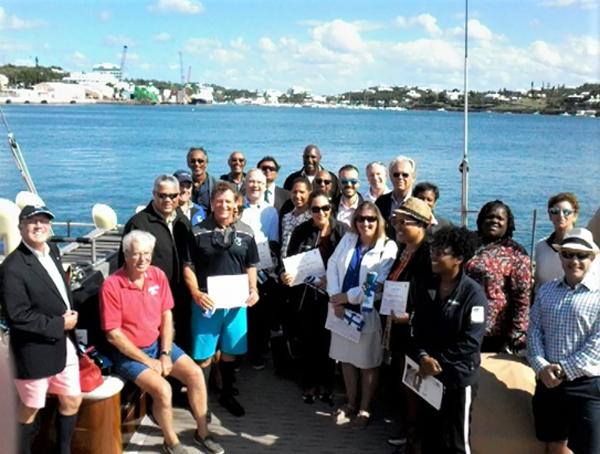 Spirit's Supporters Bermuda October 2018