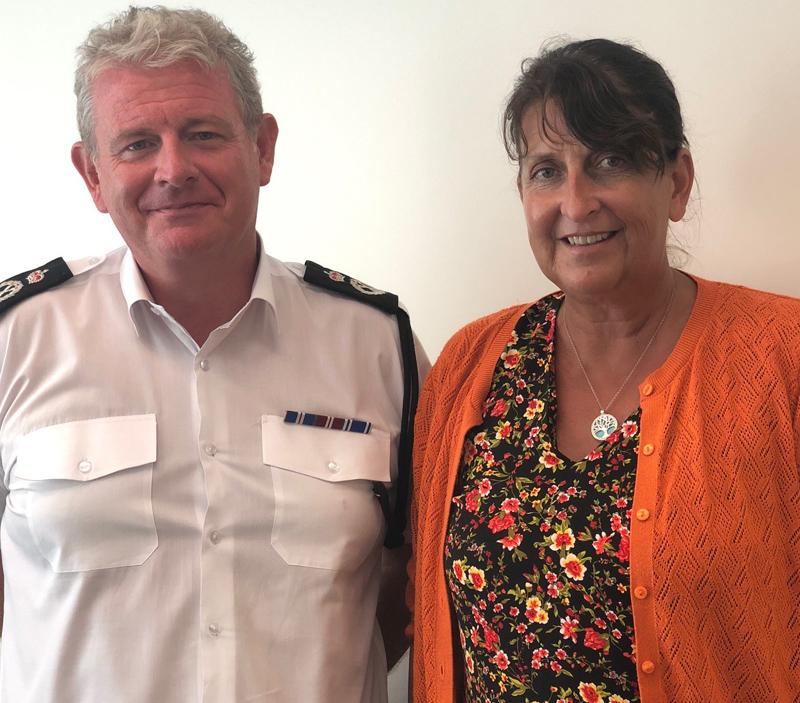 Stephen Corbishley  and Fiona Knight Bermuda Oct 2018