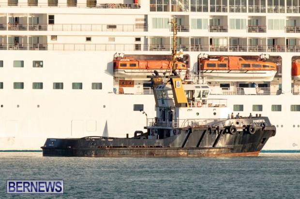 Tug Boat Powerful Bermuda, October 15 2018-7399