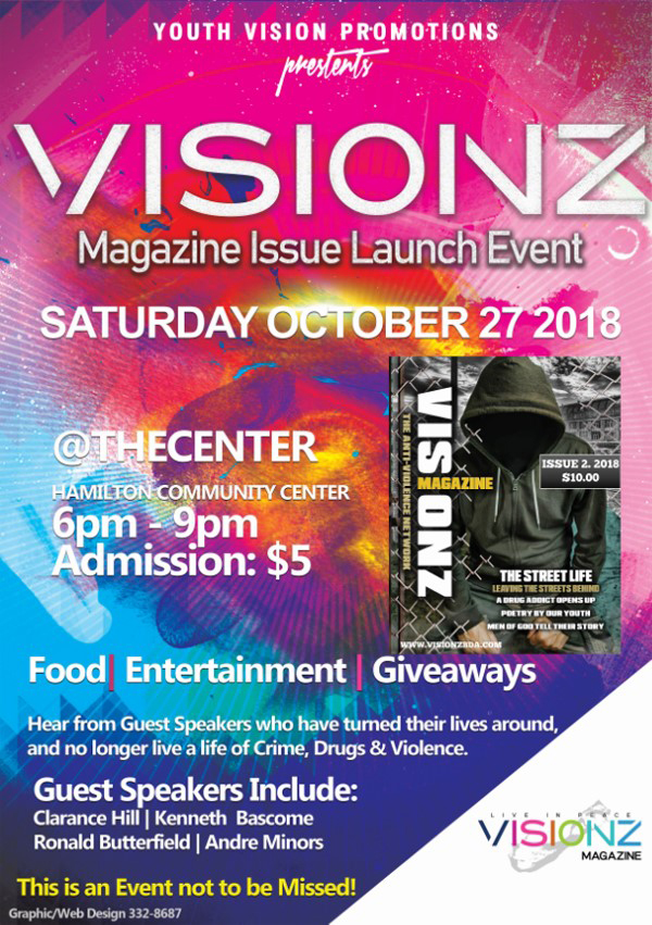 Visionz Anti Violence Magazine Bermuda Oct 2018