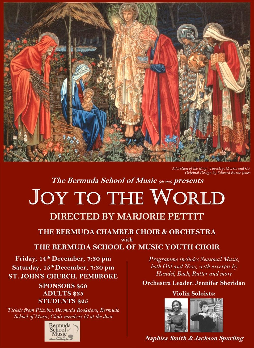 2018 joy to the world poster bermuda nov 30 2018