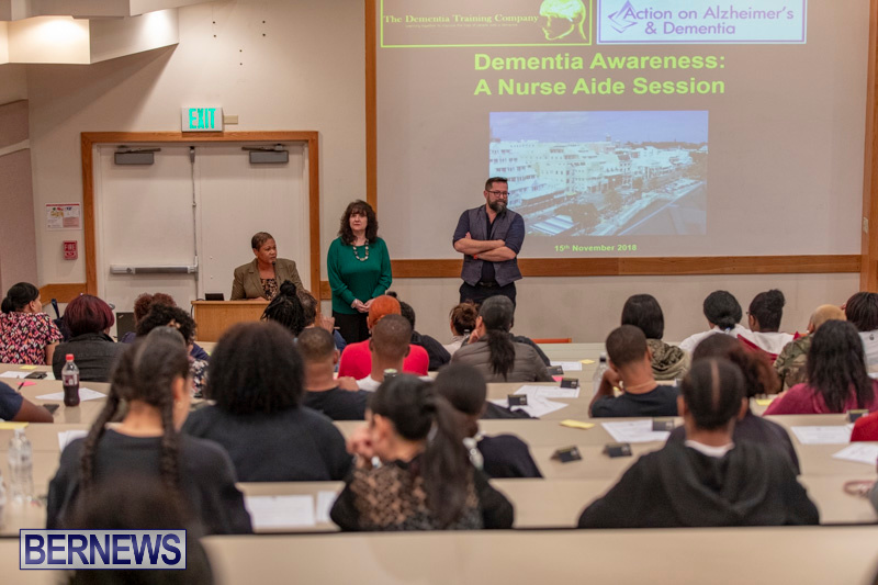 Alzheimer's Disease Forum Bermuda College, November 15 2018-8997