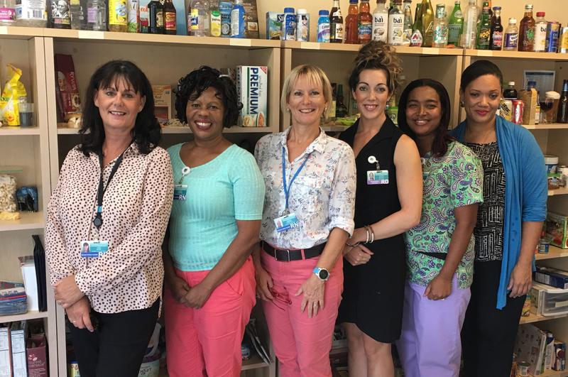 DREAM Centre clinicians Bermuda Nov 7 2018