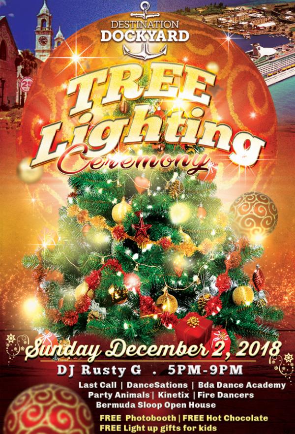 Dockyard Tree Lighting Bermuda Dec 2018
