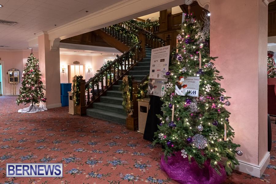 Fairmont Southampton Christmas tree Bermuda Nov 2018 (8)