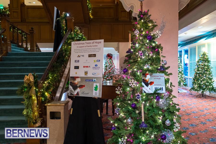 Fairmont Southampton Christmas tree Bermuda Nov 2018 (9)
