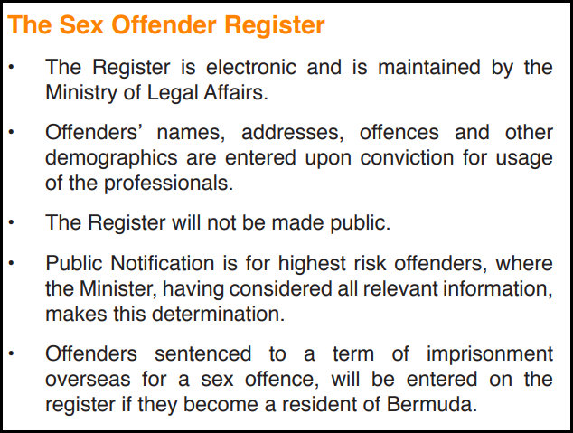 Should convicted sex offenders names be made public