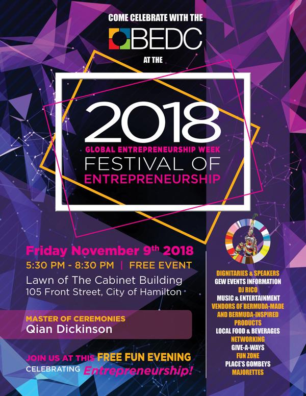 GEW Festival Of Entrepreneurship Bermuda Nov 2018