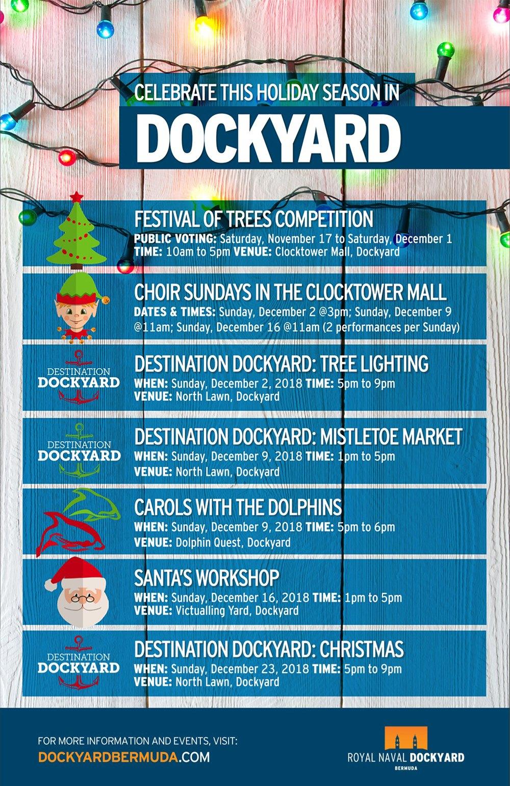 Holiday Dockyard Bermuda Nov 15 2018