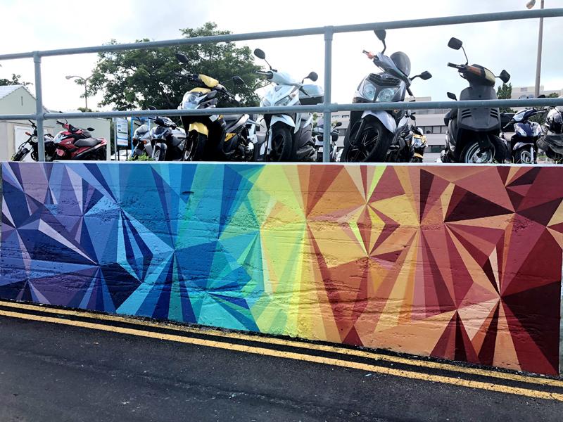 Katie Ewles Mural Bermuda Nov 2018 (2)