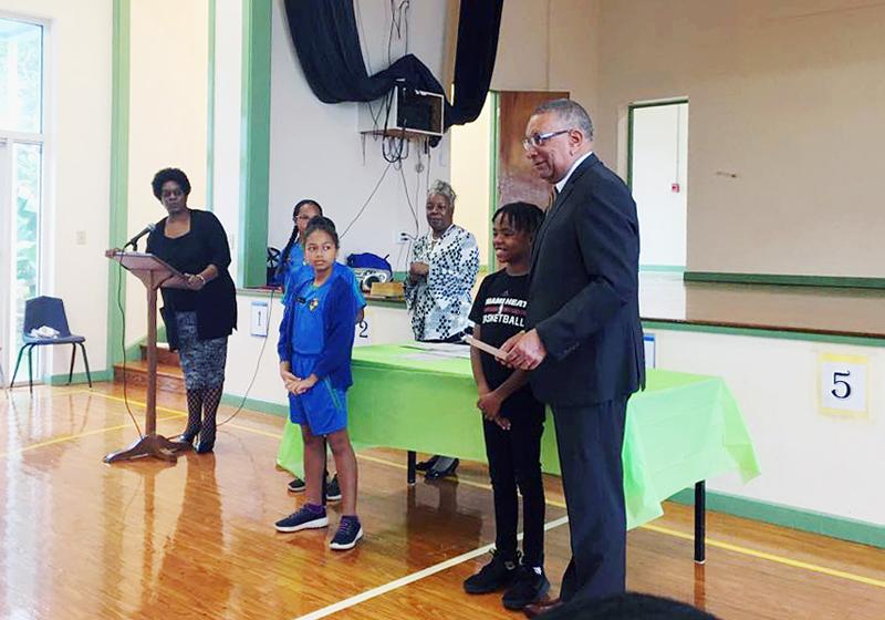 Minister David Burch Bermuda Nov 2018