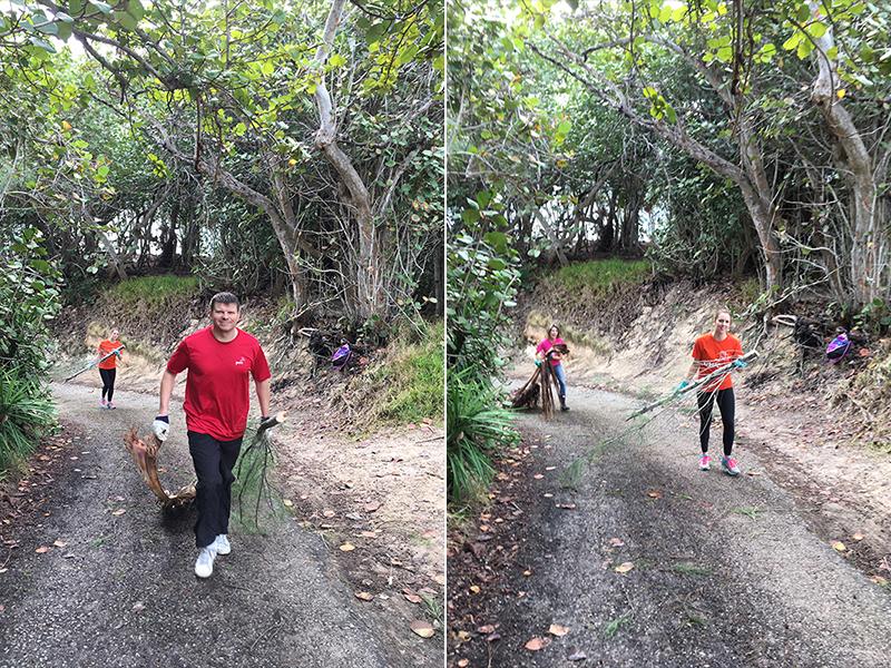 PwC Volunteers Helps Southlands Park  Bermuda Nov 26 2018 (2)