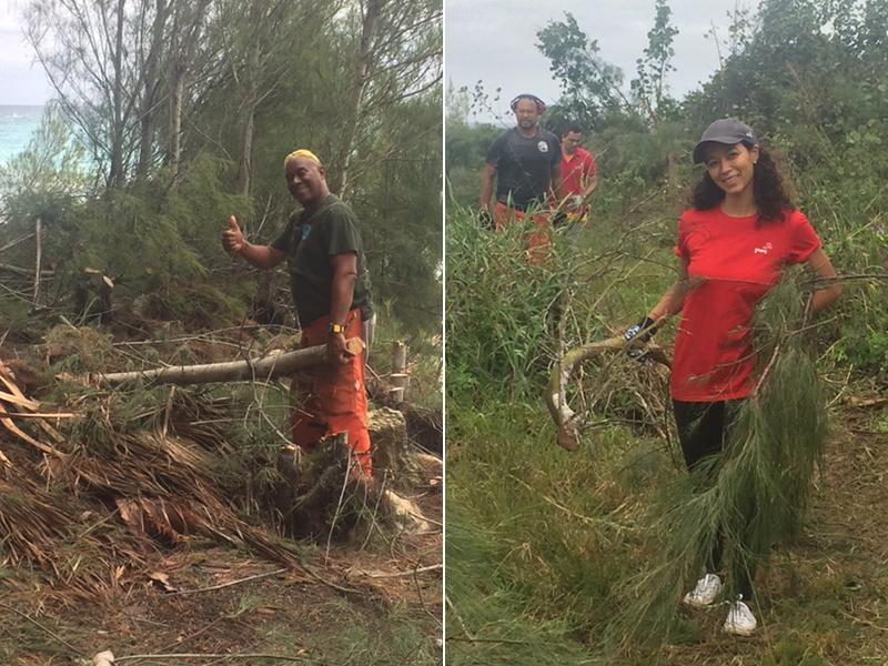 PwC Volunteers Helps Southlands Park  Bermuda Nov 26 2018 (4)