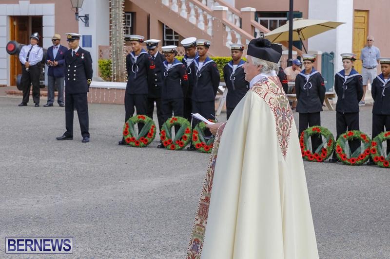 RAA wreath laying service Bermuda November 4 2018 (7)
