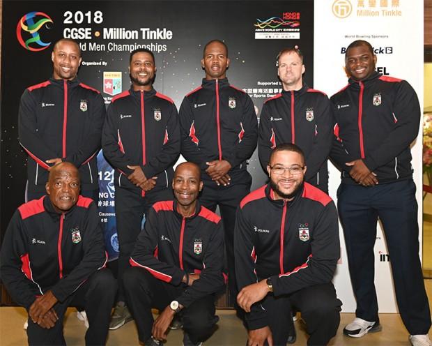 Team Bermuda bowling Nov 2018
