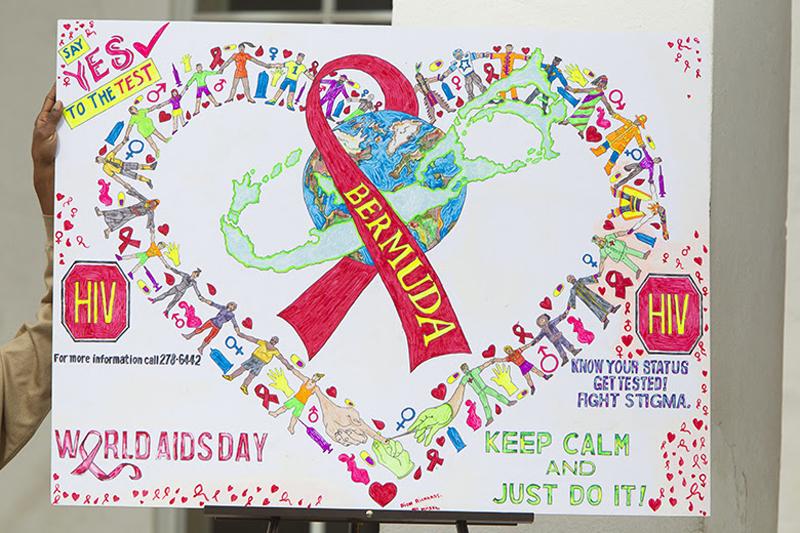 World Aids Day Observance Ceremony Bermuda Nov 30 2018 (5)