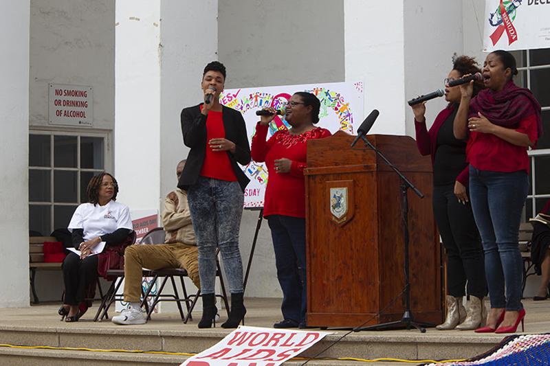 World Aids Day Observance Ceremony Bermuda Nov 30 2018 (7)