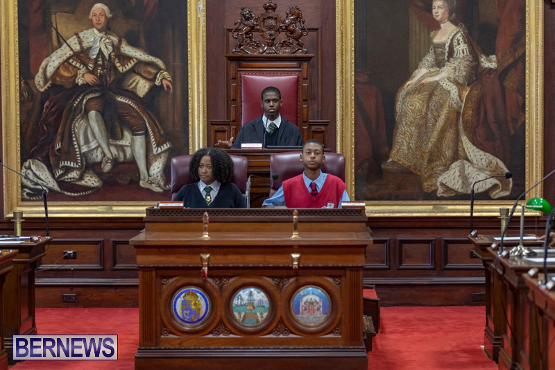 Youth Parliament Reconvening Bermuda, November 7 2018-5887
