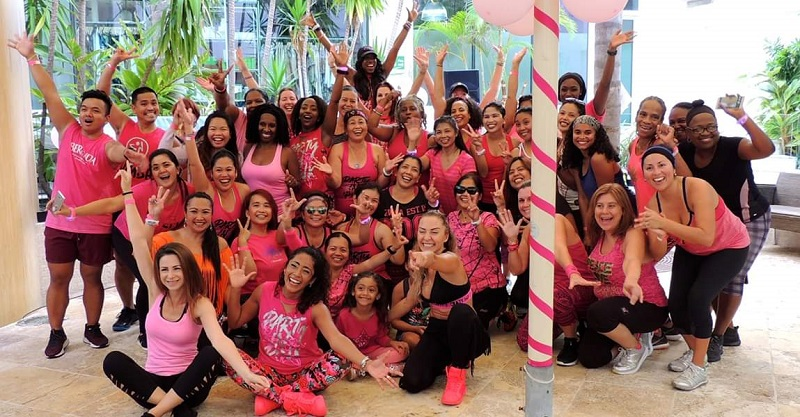 Zumbathon for Breast Cancer Awareness (1)