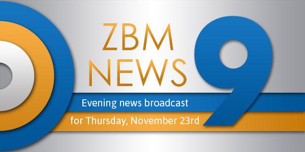 zbm 9 news Bermuda November 23 2017 TC