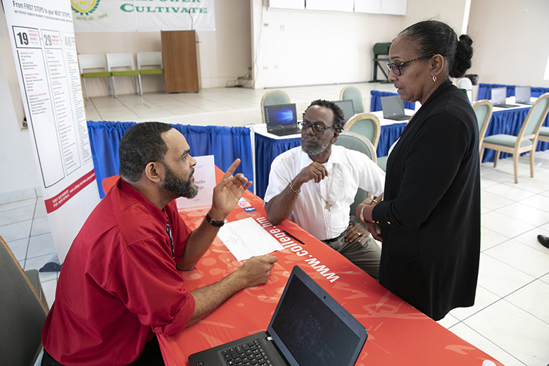 Career Development Training and Registration Drive Bermuda Dec 2018 (2)