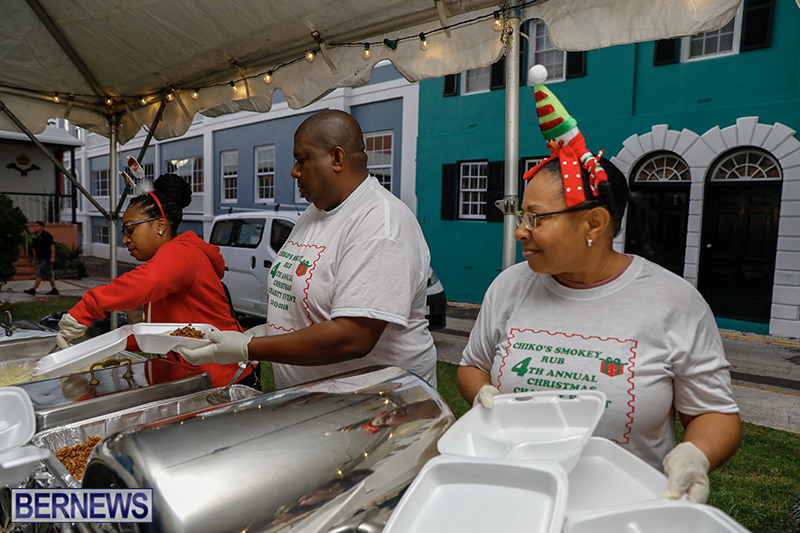 Chiko's Smokey Rub Christmas Dinner Bermuda Dec 23 2018 (7)