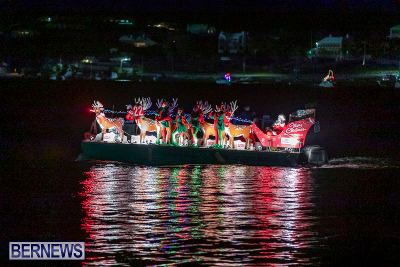 Christmas-Boat-Parade-In-Hamilton-Bermuda-December-8-2018-3862