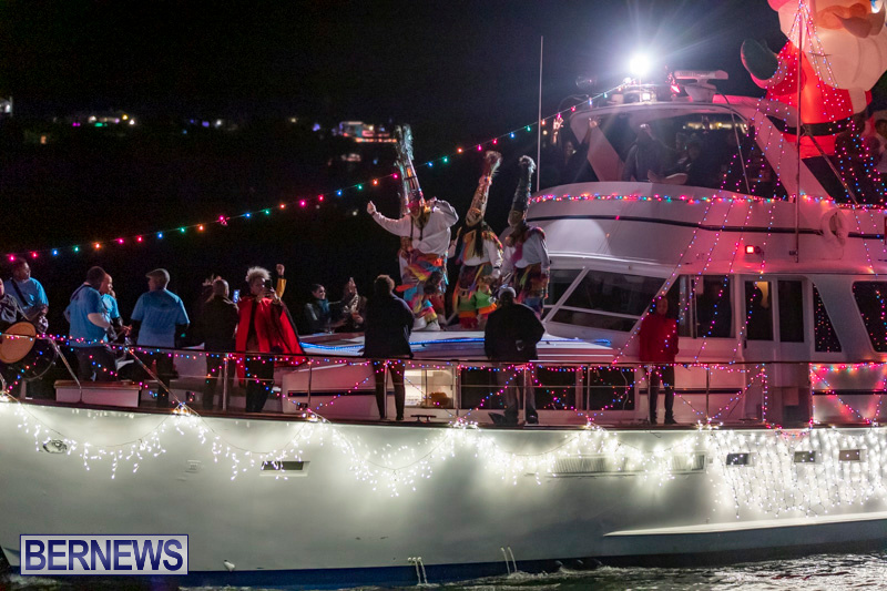 Christmas-Boat-Parade-In-Hamilton-Bermuda-December-8-2018-3873
