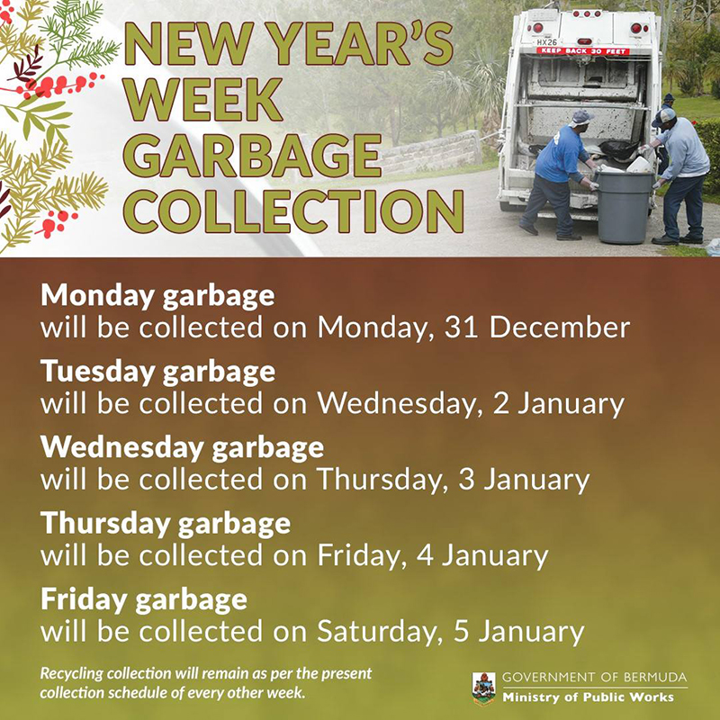 Garbage Collection Bermuda Dec 23 2018 (2)