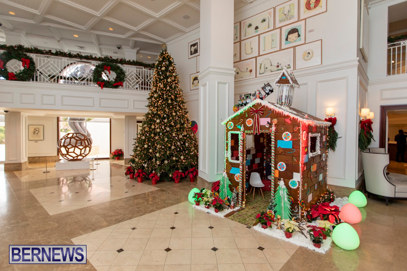 Gingerbread-House-and-Christmas-tree-Hamilton-Princess-Beach-Club-Bermuda-December-3-2018-2969