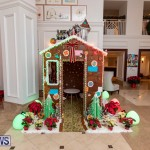 Gingerbread House and Christmas tree Hamilton Princess Beach Club Bermuda, December 3 2018-2974