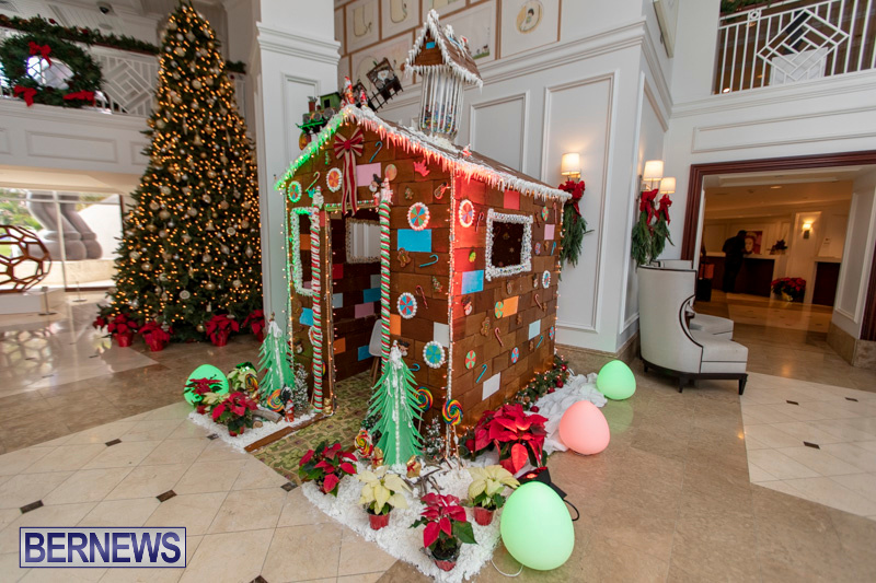 Gingerbread-House-and-Christmas-tree-Hamilton-Princess-Beach-Club-Bermuda-December-3-2018-2975