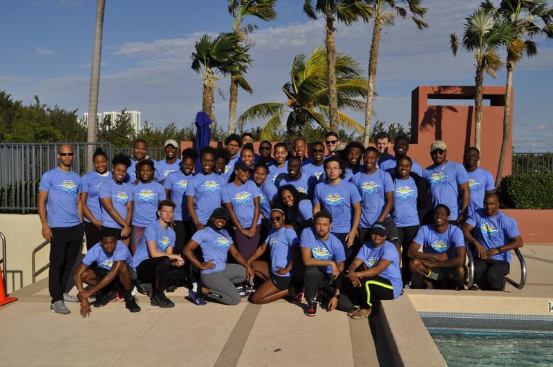 Howard University Swim Team December 2018