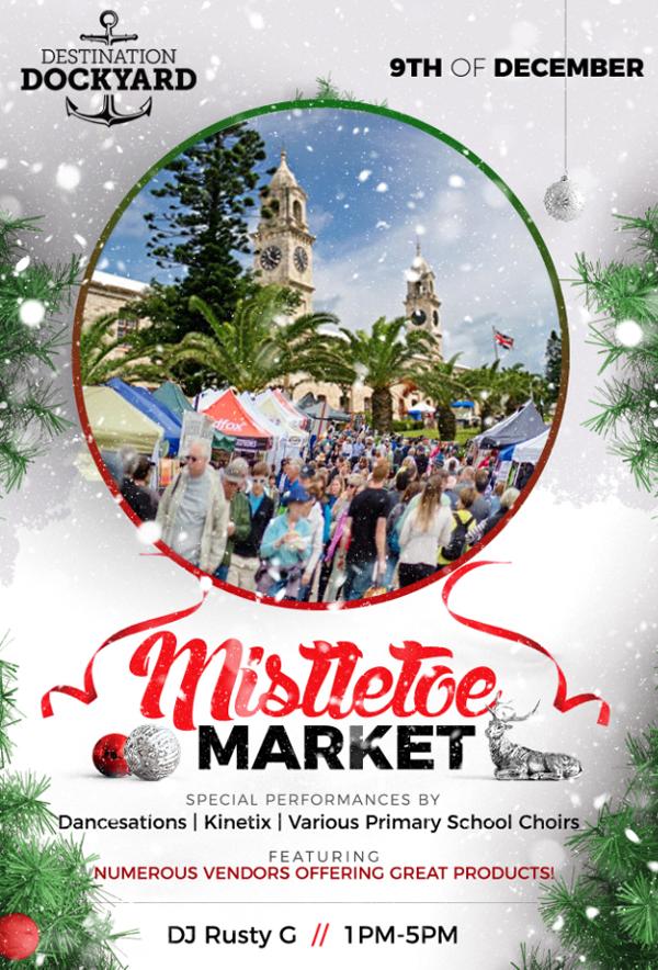 Mistletoe Market Bermuda December 2018