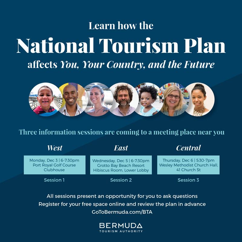 National Tourism Plan Info Sessions Bermuda Dec 2018