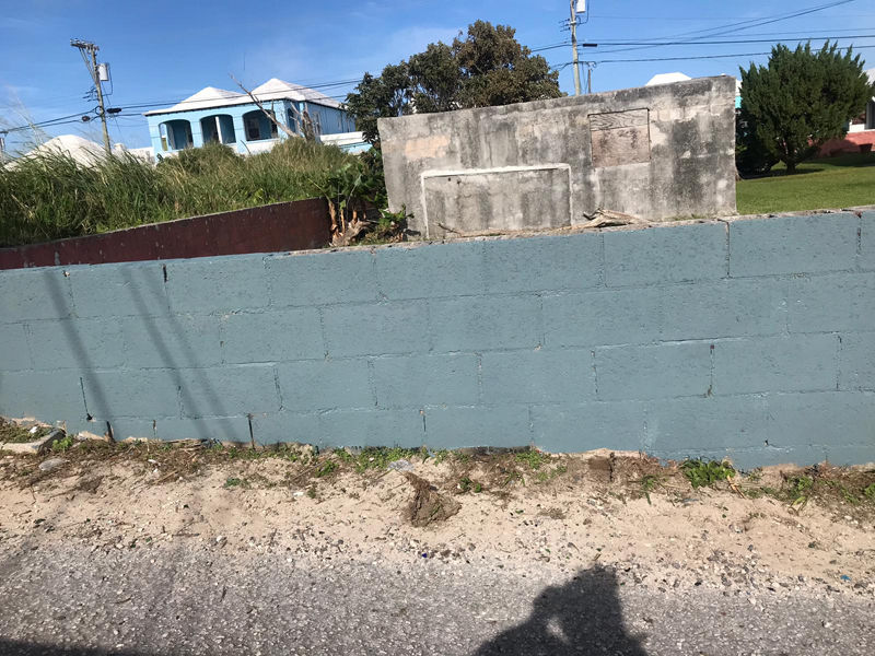 North Terrace Pembroke Gang Graffiti Bermuda Dec 2018 (2)