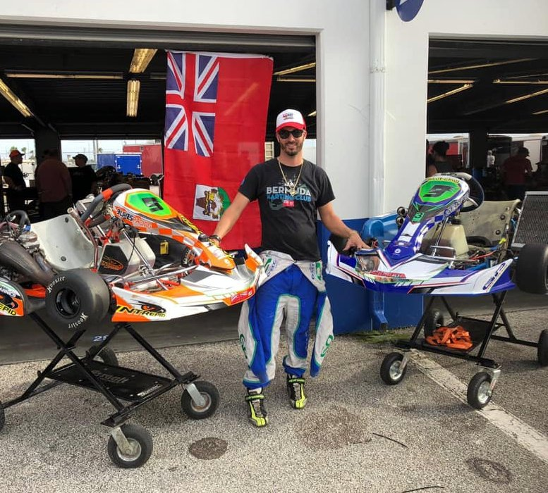 Scott Barnes Karting Bermuda Dec 30 2018