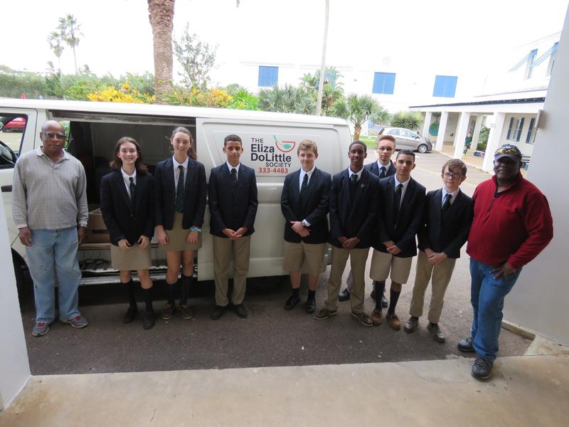 Somersfield Academy Interact Club Bermuda Dec 2018