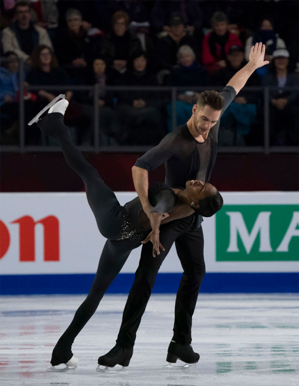 Vanessa James and Morgan Cipres December 2018