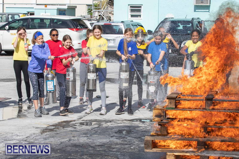 BHS Students Visit Hamilton Fire Station Bermuda, January 31 2019-6339