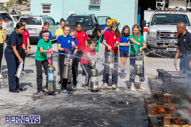 BHS Students Visit Hamilton Fire Station Bermuda, January 31 2019-6363